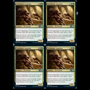 x4 twinblade assassins 226//274 uncommon core set 2021