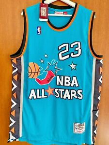 Michael Jordan Chicago Bulls Jersey All-Star Game 1996 Men Size XL New With Tags
