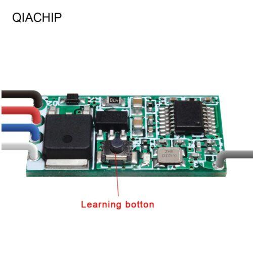 Universal Wireless 433 Mhz DC 3.6V-24V Remote Control Switch QIACHIP