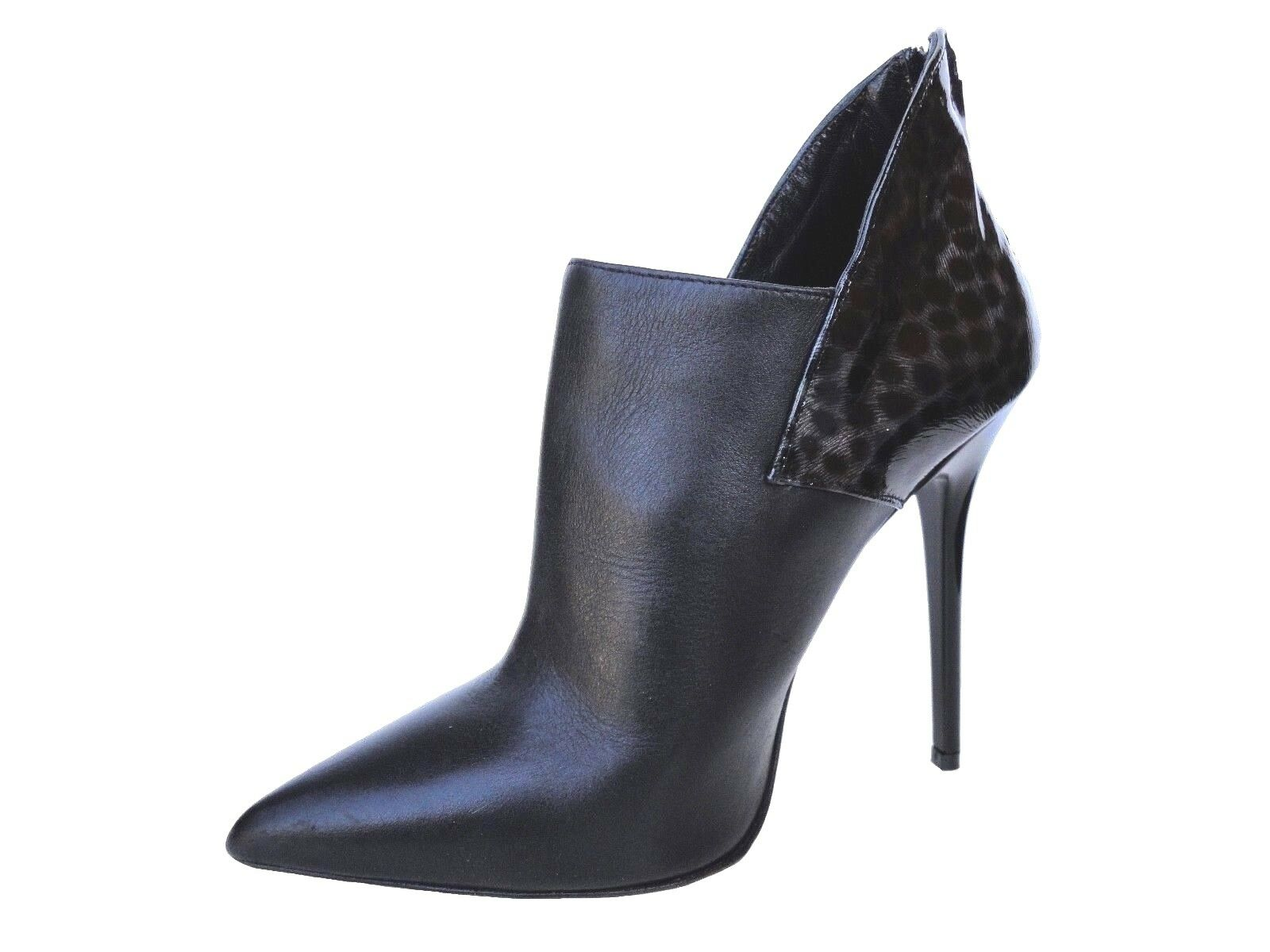 GIOHEL ITALY LEO ANKLE HIGH Stiefel STIEFEL STIVALETTI SHOES LEATHER LEATHER SHOES BLACK NERO 39 32ace5