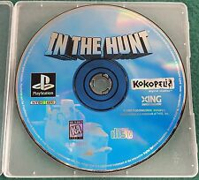 In the Hunt (Sony PlayStation 1, 1995) PS1 Disc Only Kokopeli RARE NTSC USA US