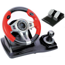 Logic3 TopDrive GT450 Steering Wheel for Gaming Playstation PS3 PS4 Xbox One PC