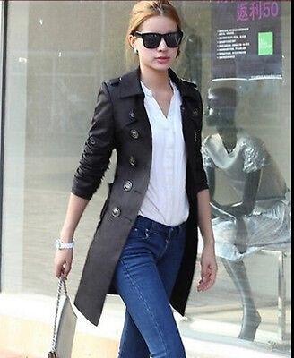 2015 women's Korean spring long sections Windbreaker jackets coats Trench Parka