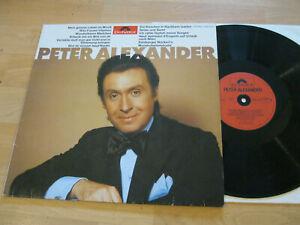 LP Peter Alexander Same Wunderbares Mädchen Vinyl Polyor 2437 316