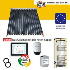 🔥Vakuumröhrenkollektor Solarkollektor Röhrenkollektor mit Speicher Set