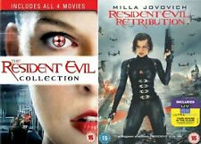 Resident Evil Movies Complete DVD Collection - Includes All 5 Movies Extra NEW