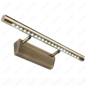Vintage-5W-LED-Mirror-front-Light-Wall-Fixture-Lamp-5050-SMD-Bronzed-Bathroom