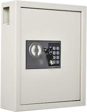 Homcom 40 Key Steel Wall Mounted Lockable Key Safe Lock Box Cabinet With Key Tag