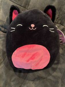 Halloween 2020 Is It The Last One New Squishmallows Halloween 2020 Black Cat Hot Pink Kellytoy FS