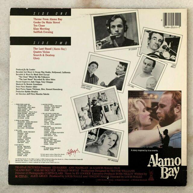 Alamo Bay , Ry Cooder , Japan OBI NM GREG - 7710822392