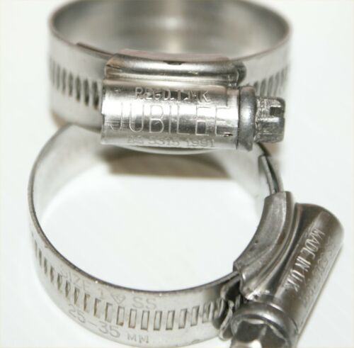 Stainless Steel Jubilee Clips Pipe Clamps