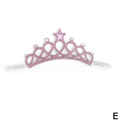 Princess Crown Headwear Headbands Bow Girls Toddler R Accessories Hair Kids G1V1