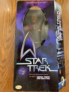"Star Trek Deep Space Nine 12"" Captain Sisko Action Figure Playmates 65535"