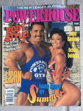RARE Powerhouse Gym Magazine 1994 NPC IFBB BODYBUILDING SAMIR  BANNOUT