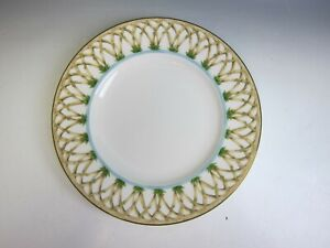 Lenox-China-British-COLONIAL-Collection-COLONIAL-BAMBOO-Accent-Luncheon-Plate-EX