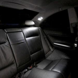 4-bombillas-con-LED-smd-Luz-Blanco-Luz-techo-trasero-para-BMW-serie-3-E46