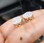 Deal-1-05-CT-Natural-Diamond-Cluster-Halo-Stud-Earrings-14K-White-Gold-9-5-MM thumbnail 11