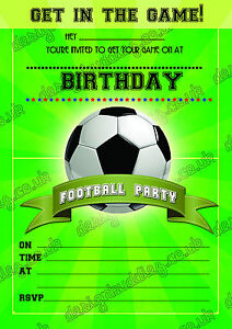 football invites boys football birthday party invitations boys party