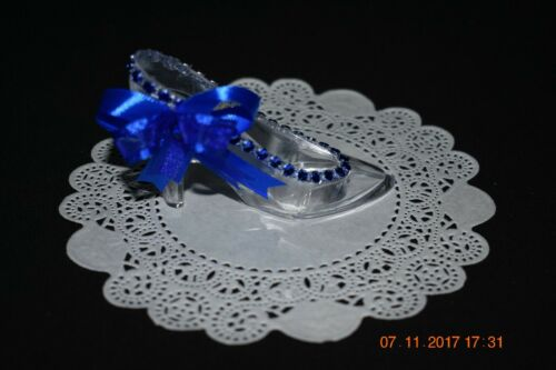Set of 12 Decorated Cinderella Slippers Sweet 16 Baby Shower Wedding Quince