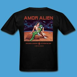 Amor-Alien-by-Laura-Molina-adult-unisex-t-shirt-black