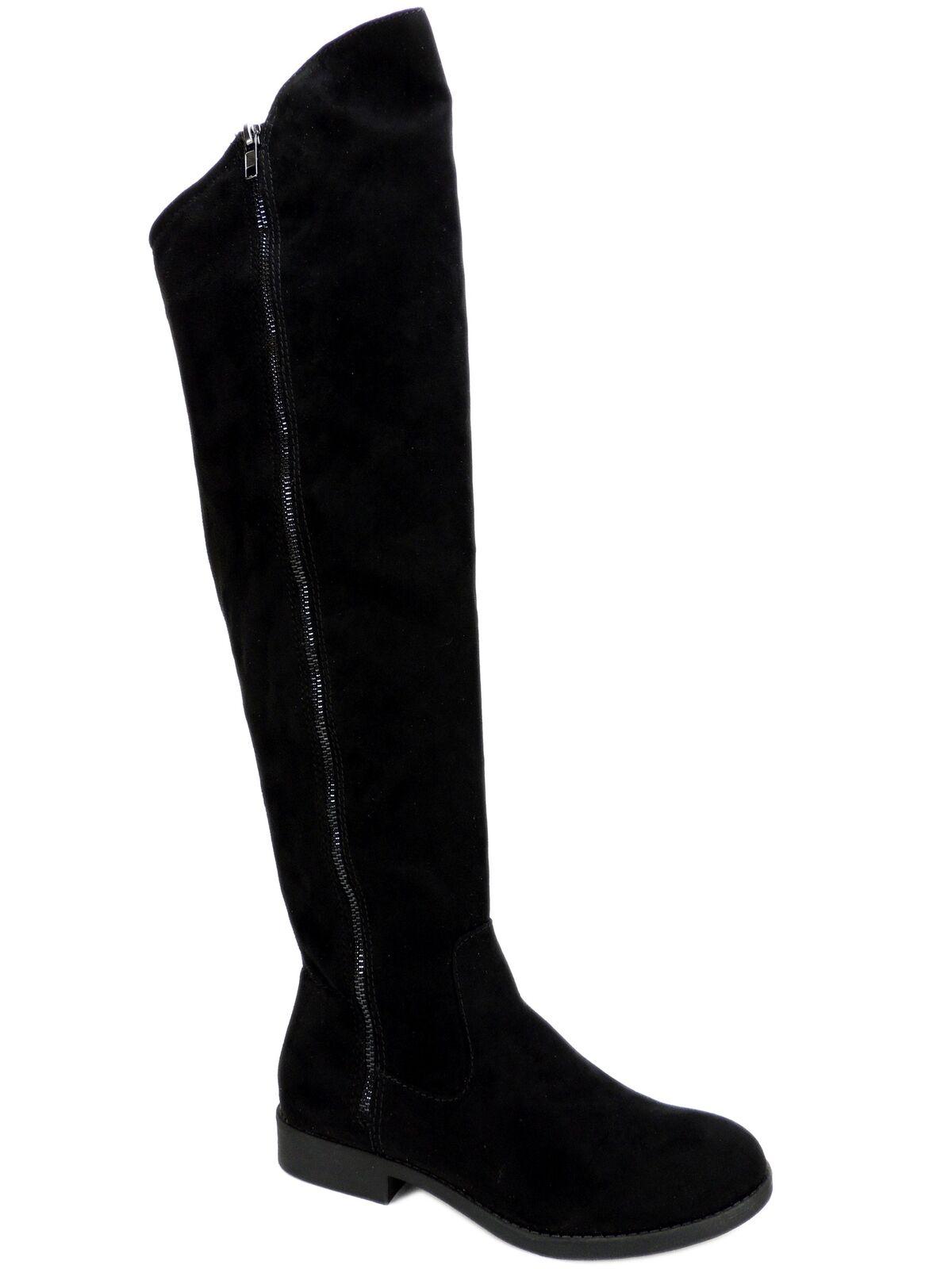 Style & Co. Co. Co. de mujer hadleyy sobre la rodilla botas Negras Talla 5.5 M  tienda en linea