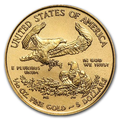 2018 1//10 oz Gold American Eagle BU