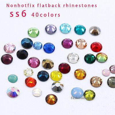 40 6x8mm pointback crystal rhinestone foiled teardrop diy Jewels nail art beads