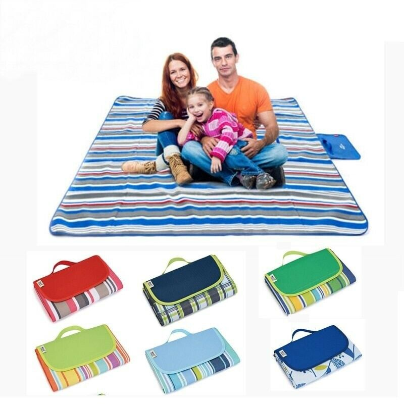 Camping Mat Sleeping Pad Mattress Air Inflatable Tent Picnic Hiking Outdoor Bed