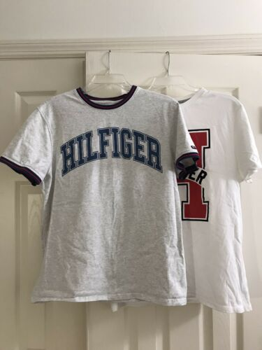 Tommy Hilfiger Lot Of 2 Medium T Shirts White And