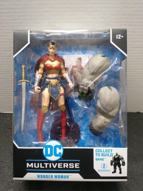 DC Multiverse Wonder Woman Batman Last Knight On Earth Bane BAF McFarlane NEW