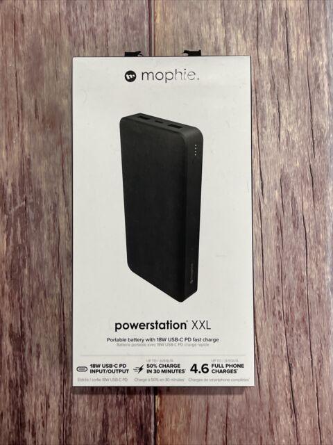 mophie Powerstation 20000mAh XXL Power Bank 18W USB-C PD Newest Model