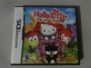 EUC-Hello-Kitty-Big-City-Dreams-Nintendo-DS-Video-Game-Complete-Free-Ship