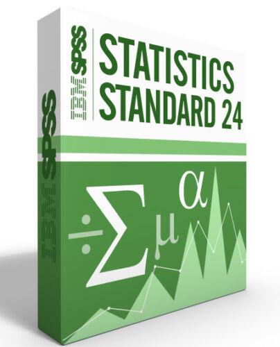 SPSS Statistics Grad Pack 24.0 Standard Windows or Mac 12 month License