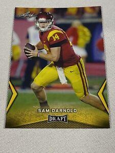 2018 Leaf Draft #54 Sam Darnold - Gold Rookie Card RC