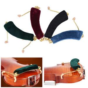 Feder-Schulterstuetze-Halter-fuer-Groesse-3-4-4-4-schwarz-Geige-Geige-CMGE