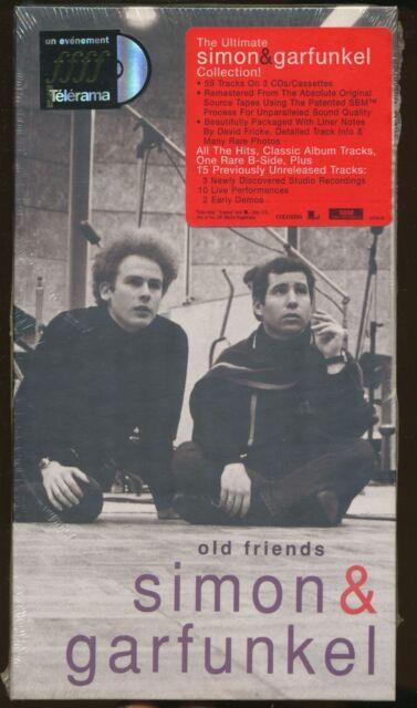 OLD FRIENDS SIMON & GARFUNKEL 3 CD's : 59 titres (COFFRET NEUF)