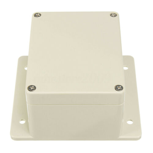 WATERPROOF ABS PLASTIC ELECTRONICS PROJECT BOX ENCLOSURE HOBBY CASE SCREW IP66