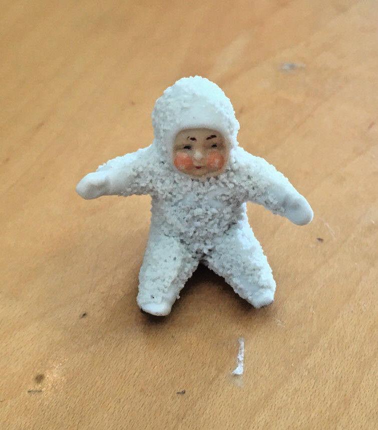 Gree Seduto Sitter,di Neve Bambino Geruomoia Antico    Sec. Snowbabie Figurina  fino al 50% di sconto