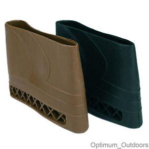 Brown Rifle Shotgun Slip on Recoil Pad Butt Gun Accessory Protector Stock Rubber
