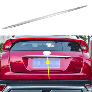 Car Rear Trunk Lid Trim Strip For Mitsubishi Eclipse Cross 2018-2020  Accessories | eBay