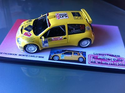 Decal 1 43 RENAULT CLIO 4 RSN°87 Rally WRC monte carlo 2015 montecarlo