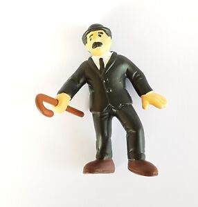 FIGURINE-DE-COLLECTION-TINTIN-SERIE-SCHLEICH-1985-DUPOND-CANNE-A-LA-MAIN-6-5-CM