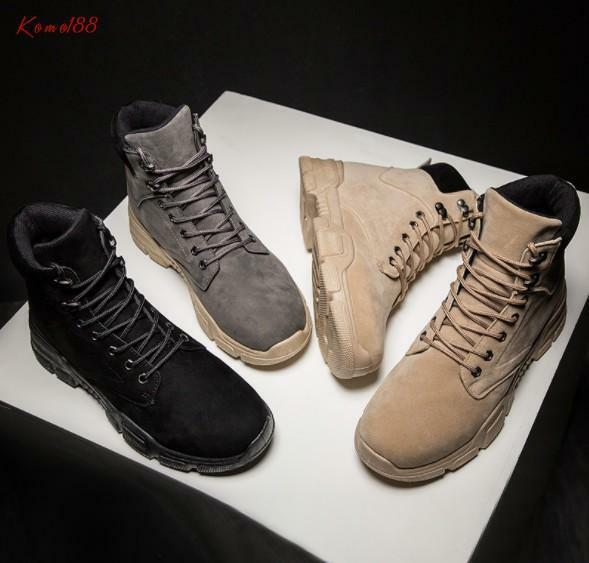 Classic new Women round toe lace up casual comfort work ankle boots