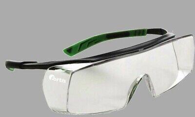 Schutzbrille für Brillenträger klar Fortis Eris Arbeitsbrille beschlagfrei | eBay