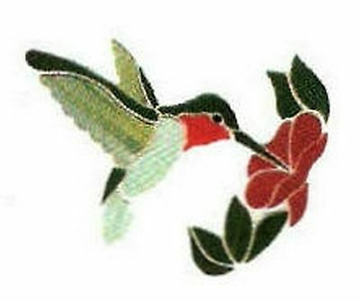 Stained Glass Supplies Precut Kit Hummingbird Suncatcher for foiling//lead