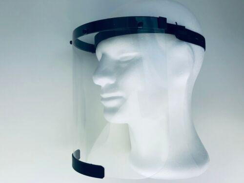 Plexiglas Face Shield mit Komfort KopfbandVisier zum SchutzGesichtsschutz