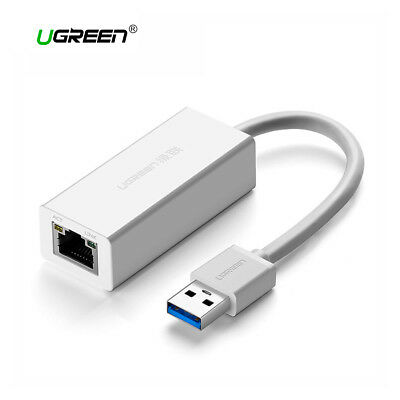 Onestà Tarjeta De Red Externa Adaptador Lan Usb 3.0 Rj45 Gigabit Ethernet Ugreen Blanco Conveniente Da Cucinare