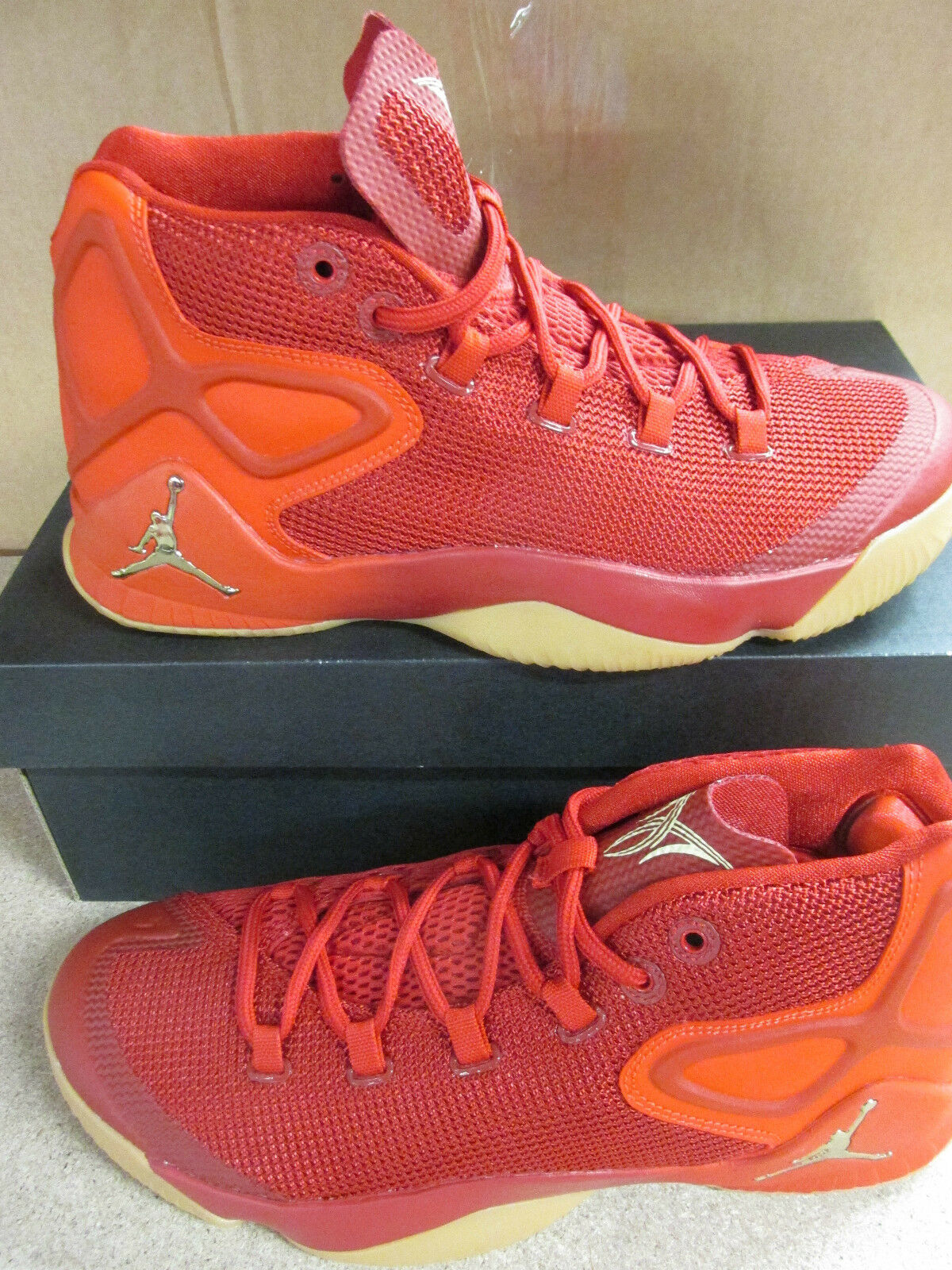 Nike Air Trainers Jordan Melo M12 Mens Hi Top Basketball Trainers Air 827176 696 Sneakers cf62a5