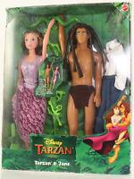Mattel - Barbie Doll - Disney Tarzan & Jane Barbie Set Box