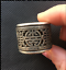 Old-Chinese-China-Miao-silver-longevity-Revolving-Men-039-s-Style-finger-Ring miniature 2